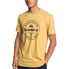 Quiksilver Secret Ingredient Camiseta manga corta Hombre, rattan